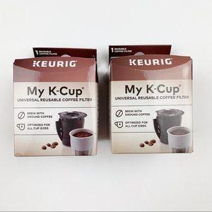 New Keurig My K-Cup Reusable Coffee Filters ~ 2